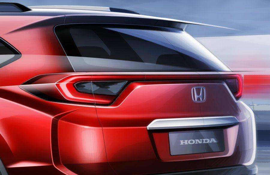 尾燈造型連貫車尾,造型與一旁車身線條相呼應。 Honda提供
