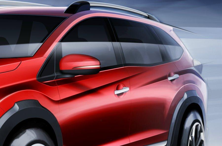 車側肌力十足的線條設計,營造立體感。 Honda提供