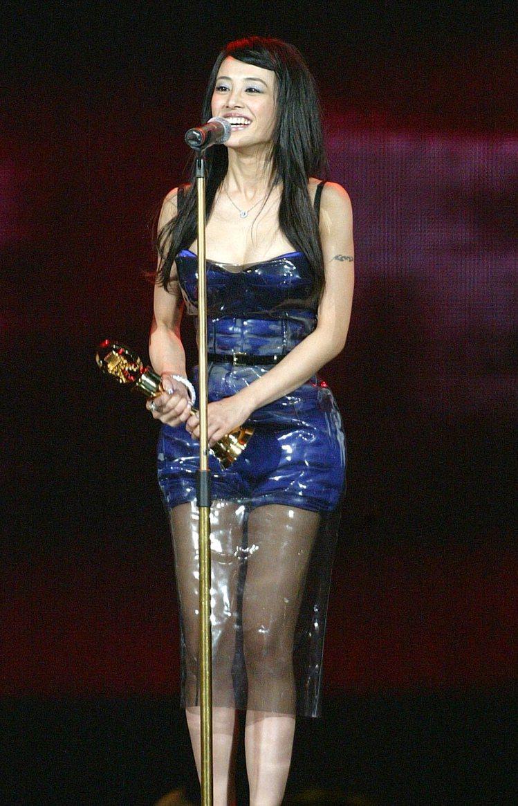 2007年,蔡依林拿下金曲獎最佳國語女演唱人獎。圖/聯合報資料照