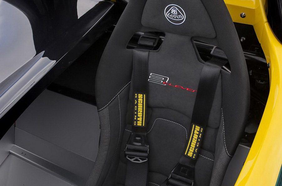 終極輕量化,座椅只有一張! Lotus提供