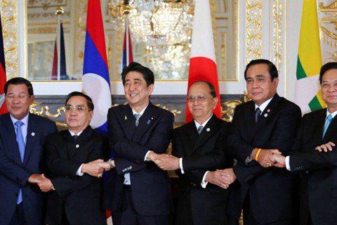 中日中南半島新烽火:「新東京戰略2015」vs.「一帶一路」