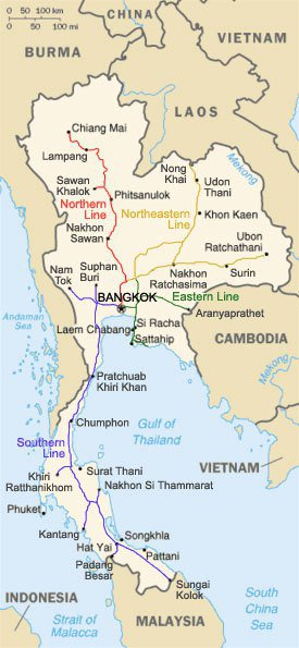 photo cedit:wiki/Thailand rail map