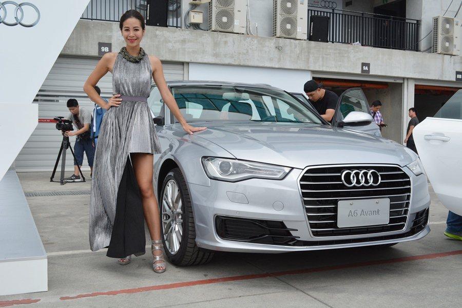 2016年式改款A6 Avant。 記者趙惠群/攝影