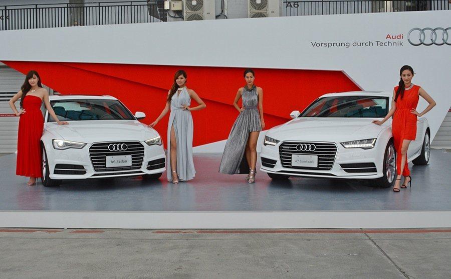 2016年式改款A6與A7車系步登台,A6換上新四缸動力,A7 Sportbac...