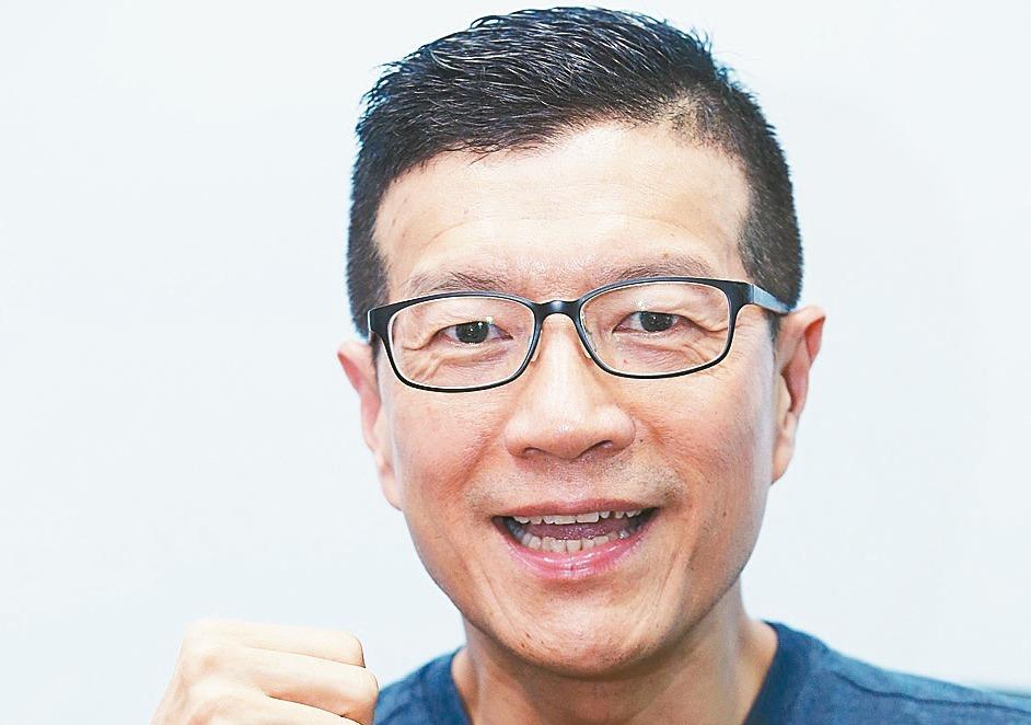 作家吳若權。 記者陳易辰/攝影