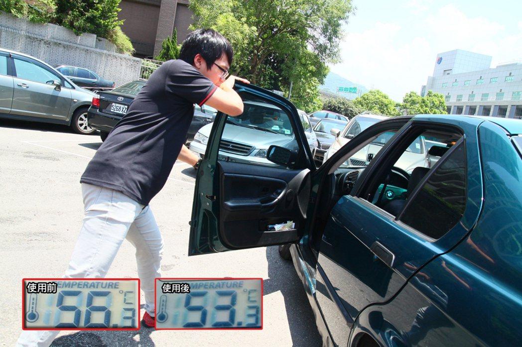 開關門是最省錢的方式,可瞬間降溫3度。 記者敖啟恩/攝影
