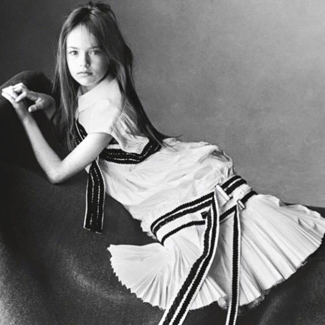 素有「世界最年輕的超模」之稱的 Kristina Pimenova 今年才 9 ...