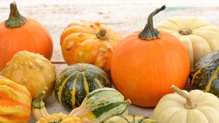 南瓜富含β-胡蘿蔔素、維生素A等營養素,具抗氧化作用,而且纖維多。 圖/ingi...