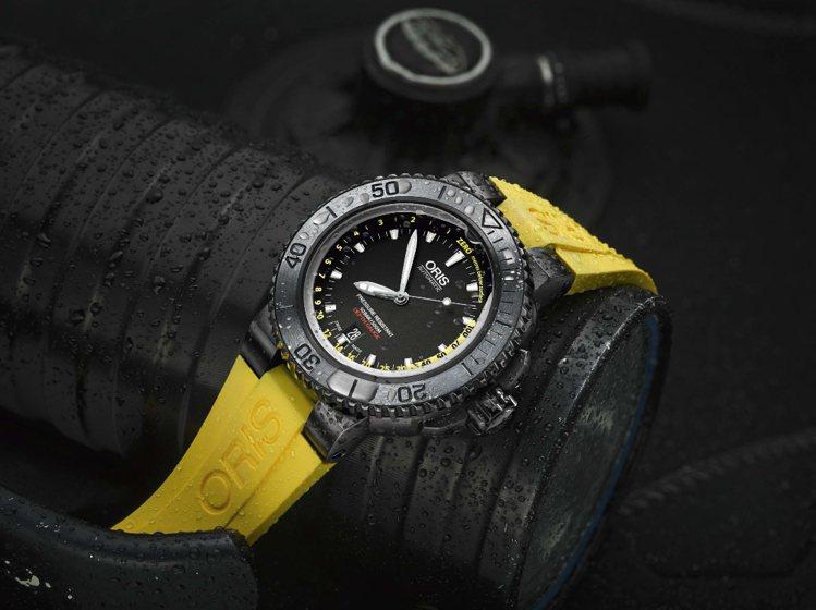 Oris Aquis Depth Gauge深度測量潛水表,自動上鍊機芯733,...