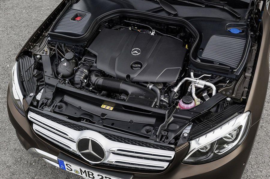GLC上市初期僅提供4缸渦輪動力車款。 賓士提供