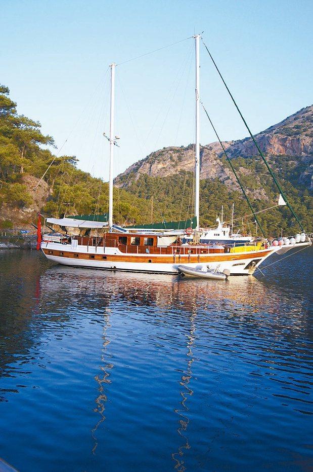 游船的另一個樂趣是欣賞其他船隻的美,這段海域可看到世界知名的豪華大船,令人驚豔。...