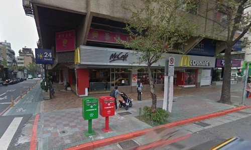 以麥當勞台北光復店為基準形成自有的「國父紀念館麥當勞商圈」,店面租金漲幅驚人。(...