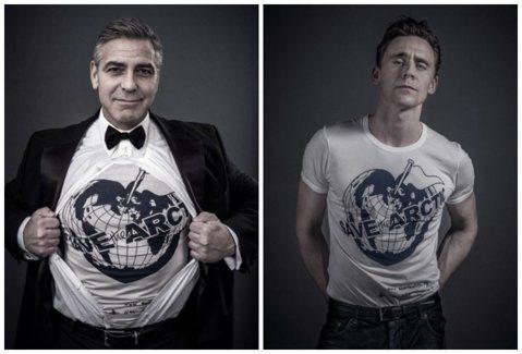 全球暖化危機持續進行,英國名設計師 Vivienne Westwood近日也設計並推出了專屬T-shirt,邀請多位名人代言。包括休葛蘭、茱蒂丹契、湯姆希德斯頓、喬治克隆尼、COLDPLAY主唱克里...
