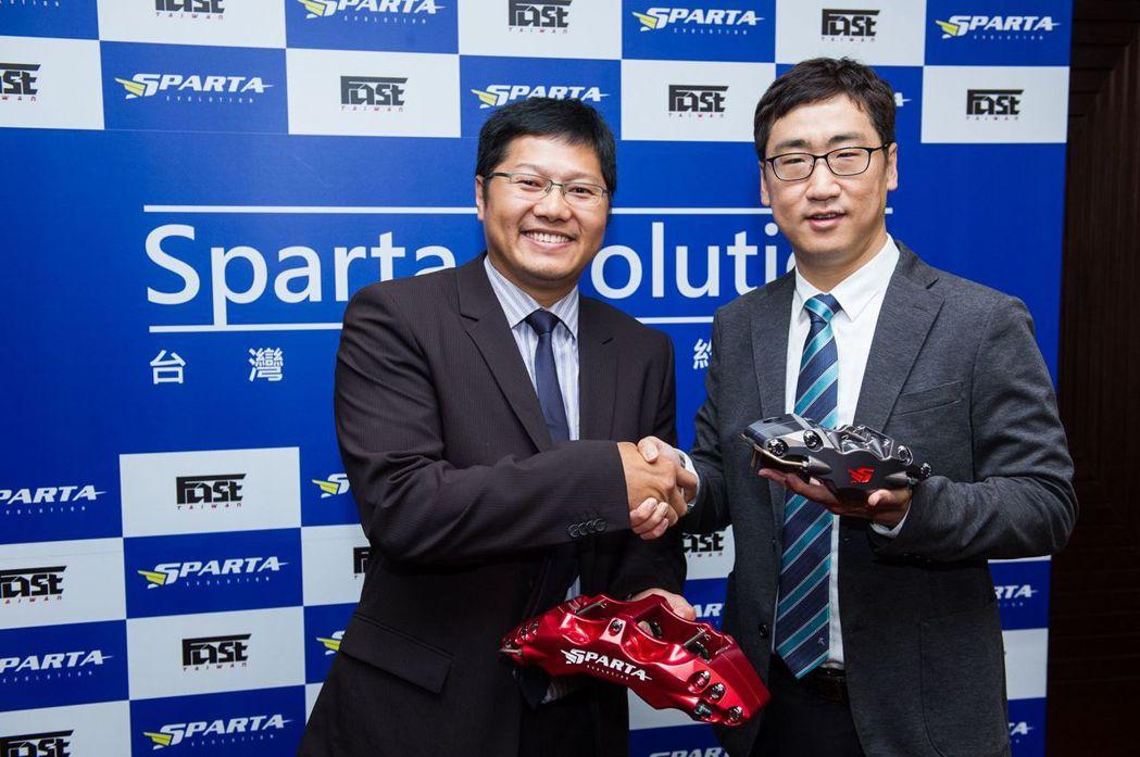 美國Sparta Evolution將由FAST Taiwan總代理正式引進台灣。 FAST TAIWAN提供