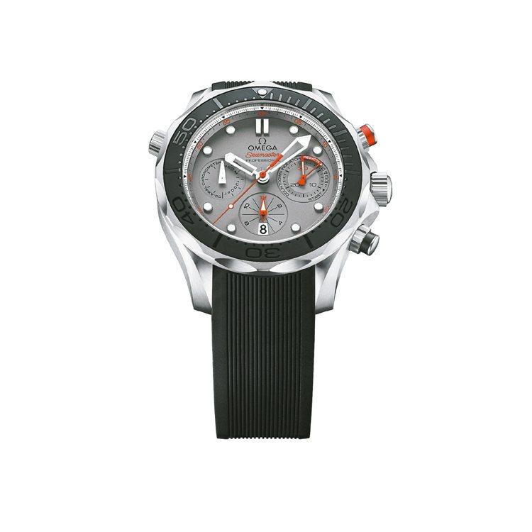 歐米茄海馬潛水300米ETNZ腕表,44mm鈦金屬表殼,防水300米,22萬9,...
