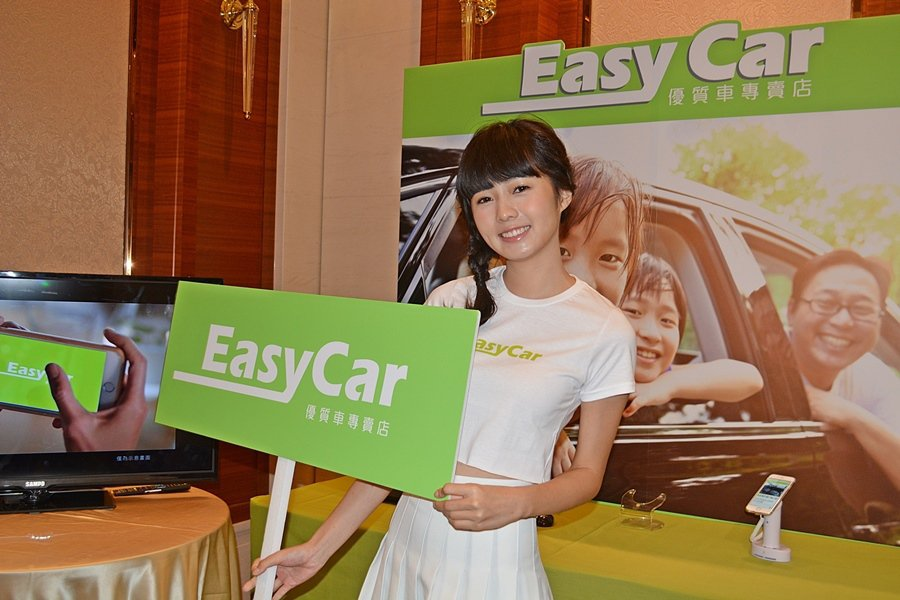 匯豐汽車特別請來網路人氣少女簡廷芮為Easy Car品牌代言。 記者趙惠群/攝影