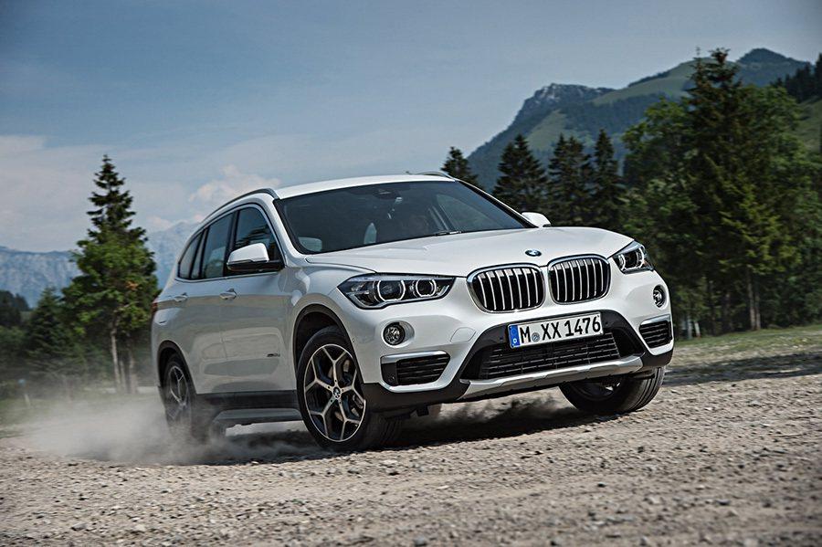 全新 BMW X1跨界休旅車換上全新面貌,擺脫高底盤旅行車的外型。 BMW提供