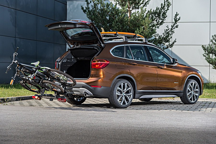 身為 SUV休旅車就該有傲人的載物能力。 BMW提供