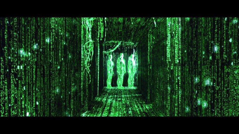 網路虛擬與真實世界的分際越來越模糊;電影《駭客任務》劇照。 圖/報系資料圖片