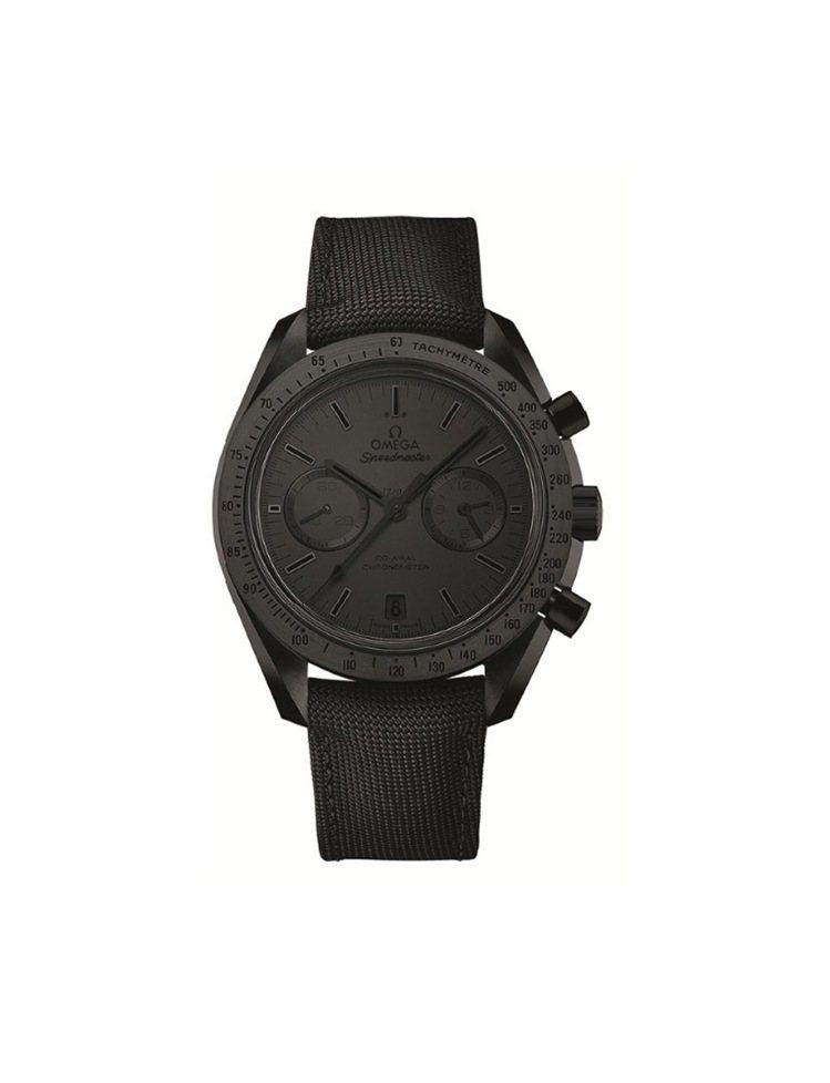 Speedmaster超霸月之暗面「Black Black」, 392,700元...