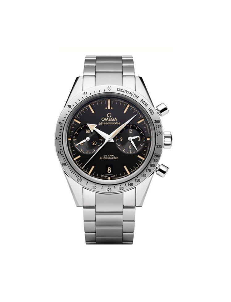 Speedmaster超霸'57腕錶復刻版-精鋼表鏈, 272,700元。圖/O...