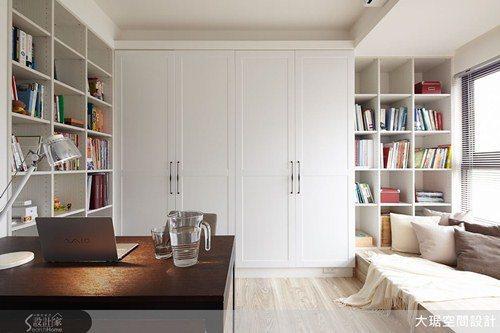 整齊有致的收納,讓居家空間簡潔俐落,人們的思緒也才能清晰。 圖片提供/大琚空間設...