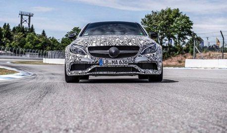 Mercedes-AMG C63 Coupe再釋預告圖 8月正式發表!