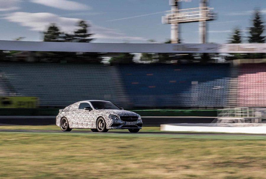 Mercedes-AMG C63 Coupe在 Hockenheimring霍肯...