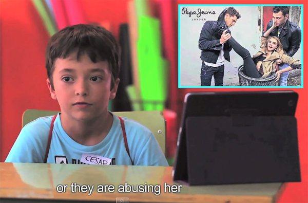 「他們虐待她..」圖/擷自youtube