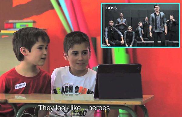 「他們像英雄。」圖/擷自youtube
