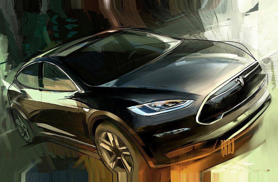 Model X電動休旅車擁有前/後兩個行李箱空間。多出來的載物空間,解決了燃油動...