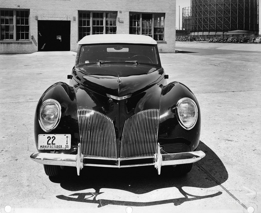 Lincoln Zephyr。 Ford提供