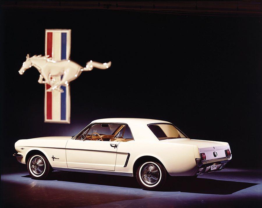 1964 Mustang美式肌肉車。 Ford提供