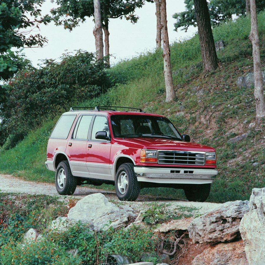 Explorer休旅車。 Ford提供