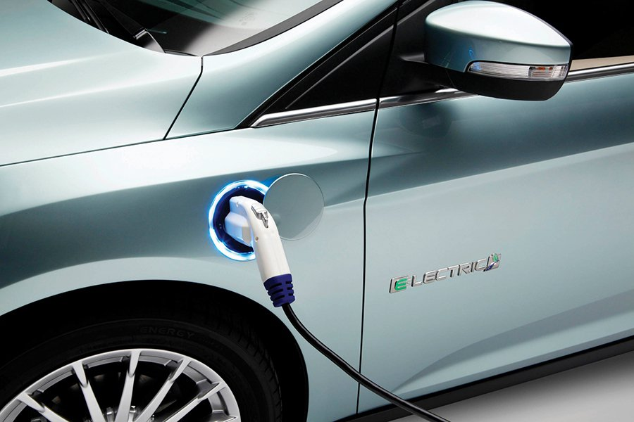 Focus Electric。 Ford提供