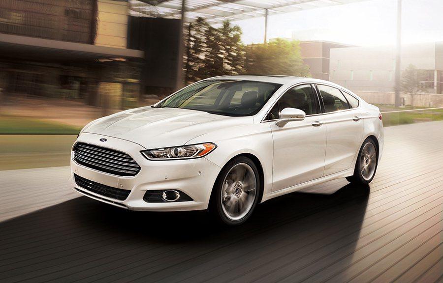 2013年問世的Ford Fusion。 Ford提供