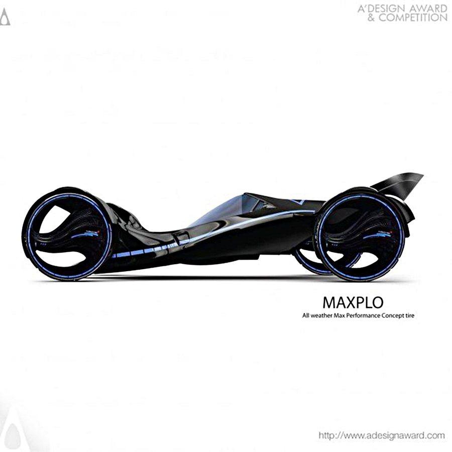 Maxplo輪搭載在一台電動車上,採用以氫為燃料為的輪轂發電機,產生驅動電力。 圖/Kuhmo提供