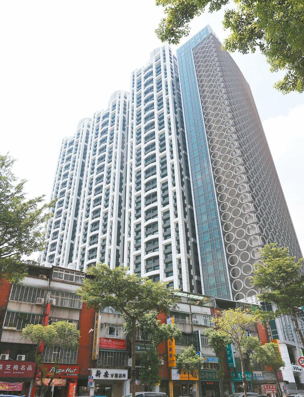 圖為新北市板橋新巨蛋社區,是新北市的熱門住宅社區。 報系資料照