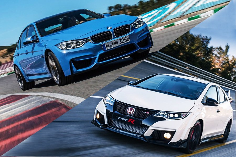 渦輪增壓引擎後輪驅動 BMW M3轎跑車會輸給日系性能鋼砲 Honda Civi...