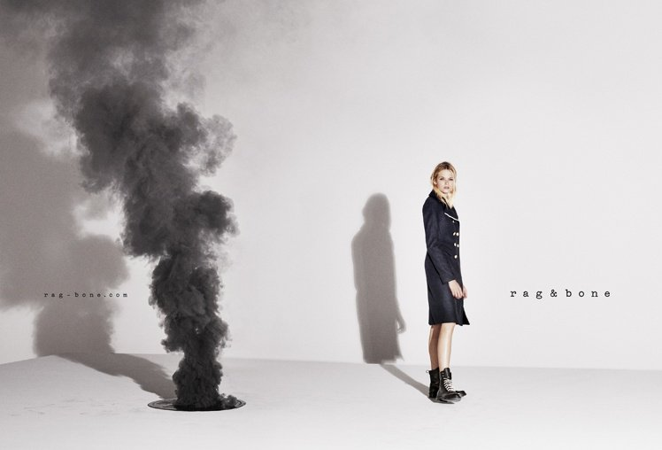 rag & bone 日前發表秋冬廣告,找來《無盡的愛》英國女星 Gabriel...