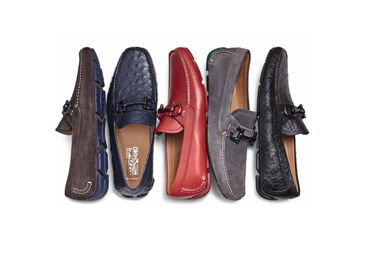 Driver MTO各種皮革開車鞋訂製鞋款系列。圖片/Salvatore Fer...