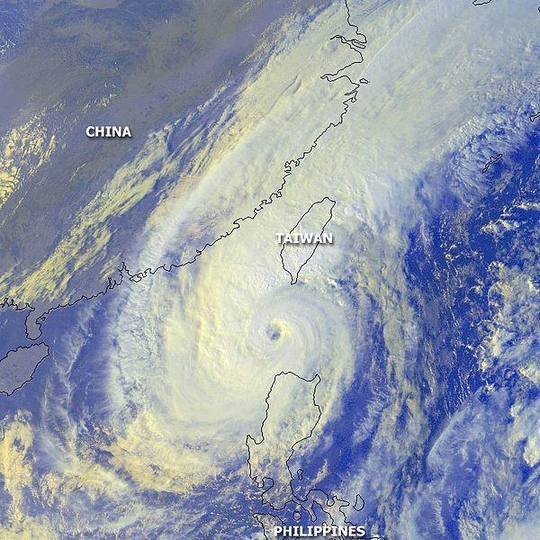 象神颱風。 圖片來源/ wiki