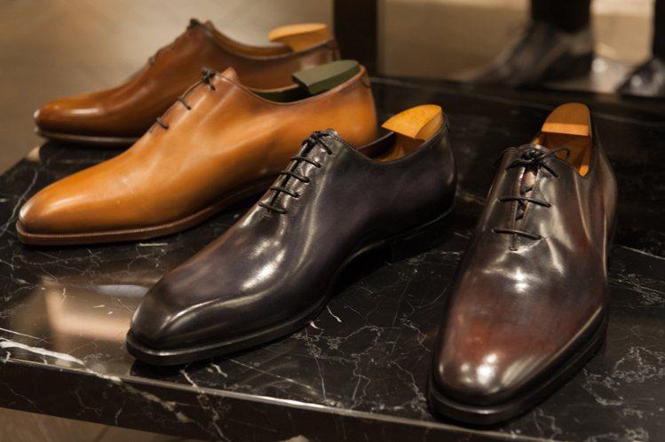 Alessandro鞋款系列。圖/Berluti提供