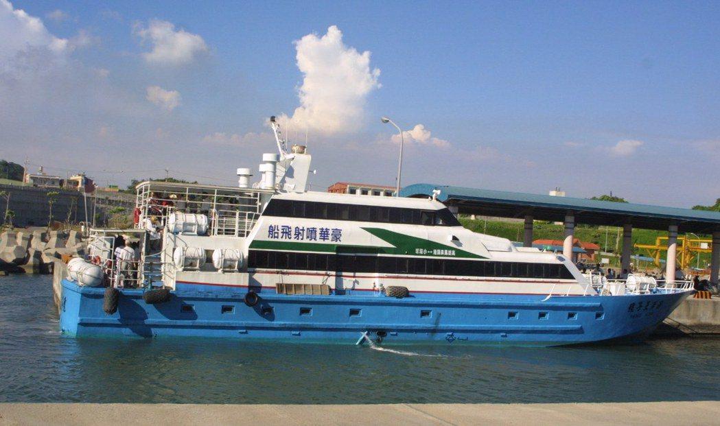 鳳鼻頭港是南台灣海上藍色公路的起點。 記者許正雄/攝影