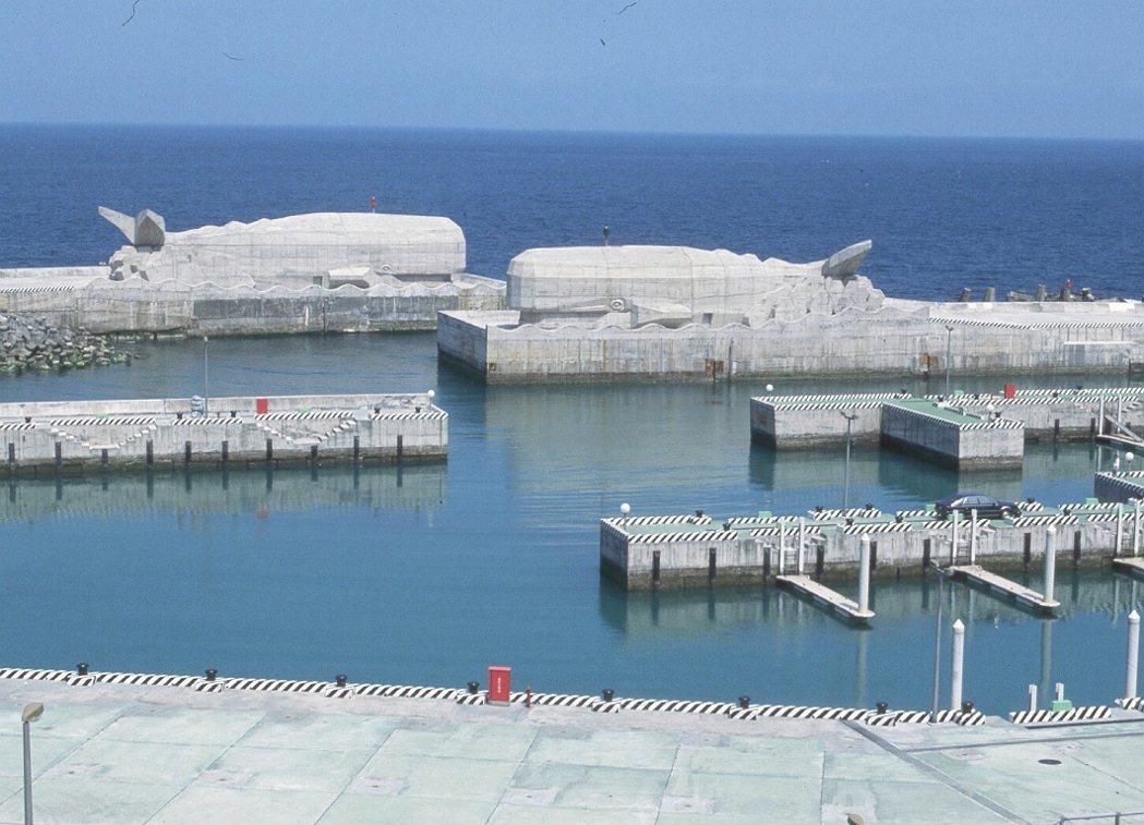 台北縣龍洞灣遊艇港,是國內第一座遊艇港。 圖/東北角風管處提供