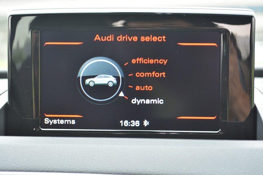 Q3 35 TFSI quattro也提供Audi Drive Select可程...