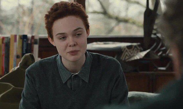 艾兒芬妮主演探討變性人的新片《About Ray》預告日前釋出。圖/擷自每日郵報