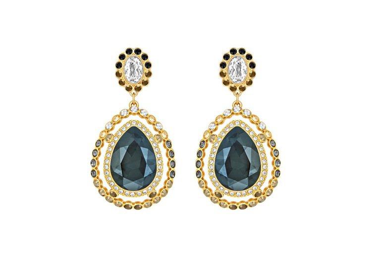 Darling Pierced耳環,漸層的灰色系水晶展現迷人氣息,一對4,990...
