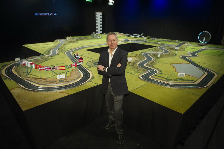 Martin Brundle與 Hornby Hobbies公司合作打造出世界上...