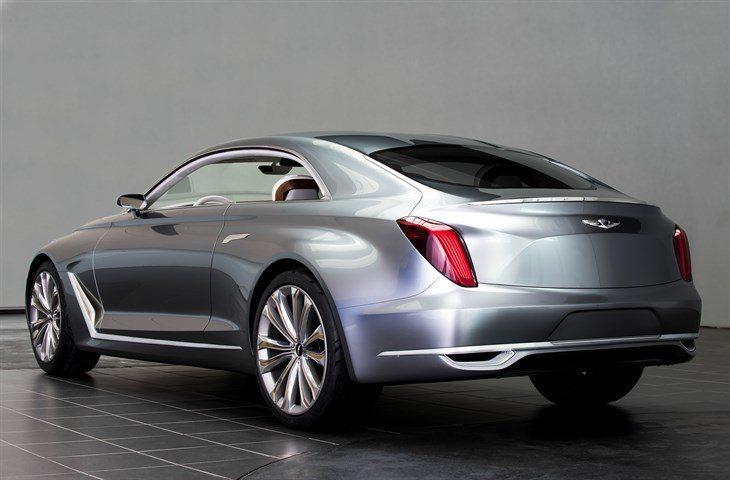 車尾造型更和Myabach禮車有幾分相似。 圖/Hyundai提供